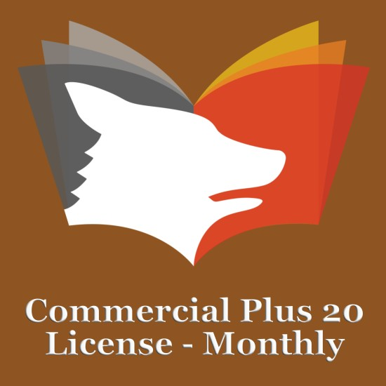 Commercial Plus 20 Monthly Subscription